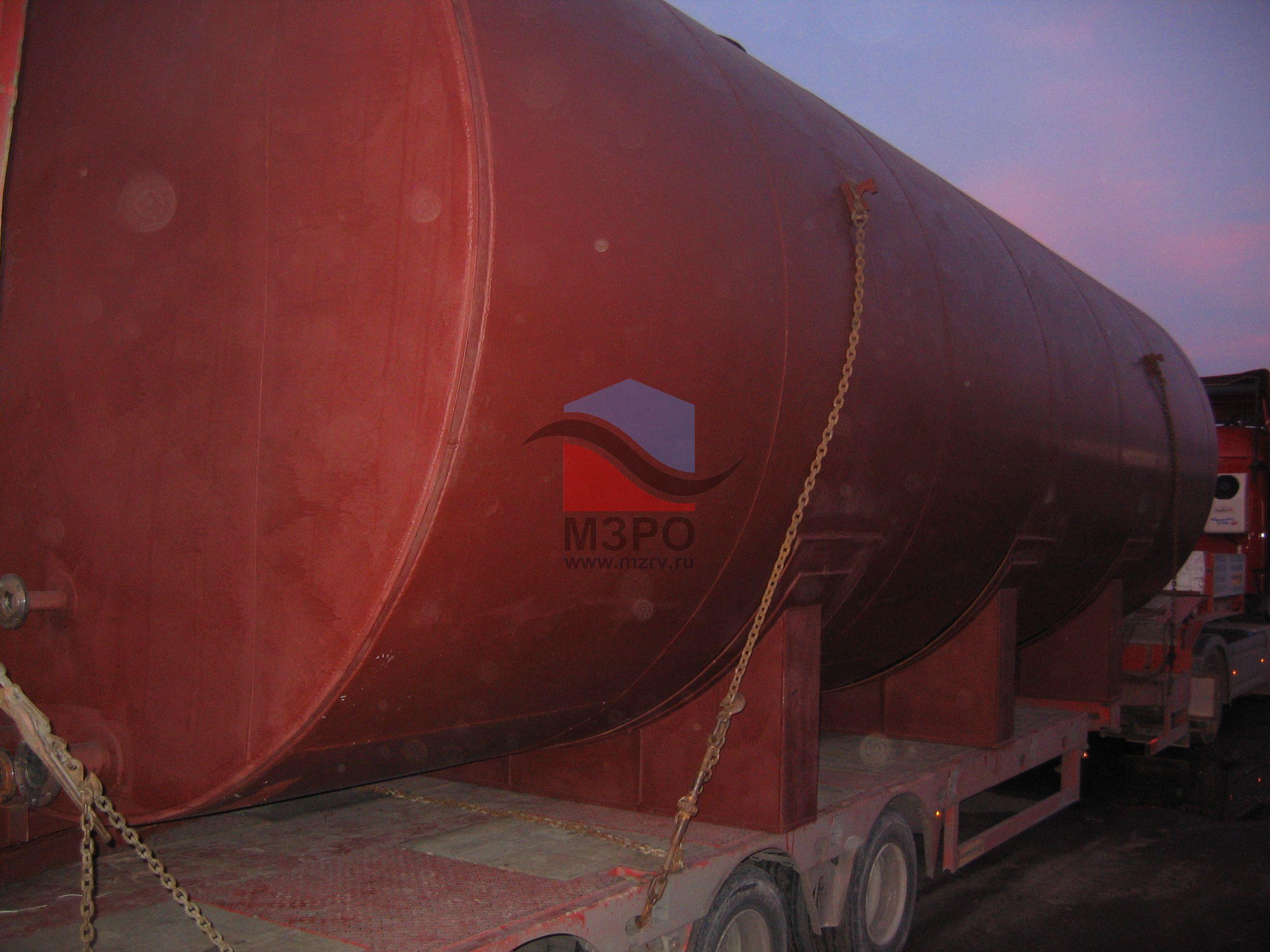 резервуар горизонтальный стальной наземный РГС 75-4-3240
