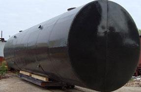 Московский завод резервуарного оборудования | Производство горизонтальных стальных резервуаров РГСН и РГСП