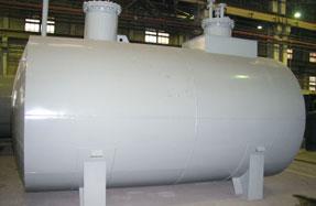 Московский завод резервуарного оборудования | Производство горизонтальны стальных двустенных резервуаров РГД