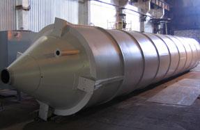 Московский завод резервуарного оборудования | Производство силосов для цемента, зерна и муки