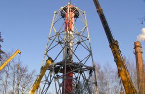 Московский завод резервуарного оборудования | Монтаж дымовых труб и газоходов