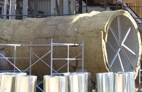 Московский завод резервуарного оборудования | Теплоизоляция резервуаров, трубопроводов и дымовых труб