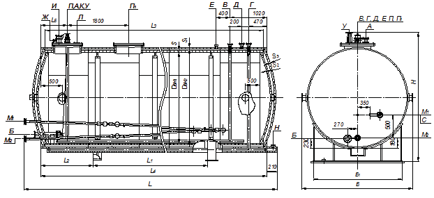 Схема двустенных